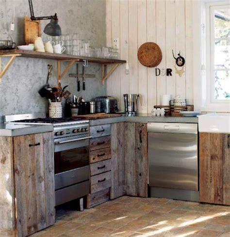como decorar una cocina  aire de campo decoracionin