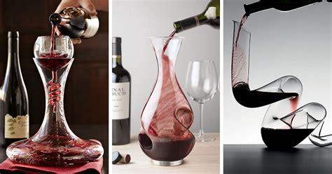 10 Unique Modern Wine Decanters