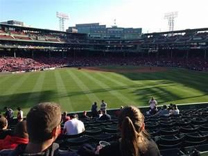 Fenway Park Bleacher Seating Chart Fenway Park Section Bleacher 36 Home Of Boston Red Sox