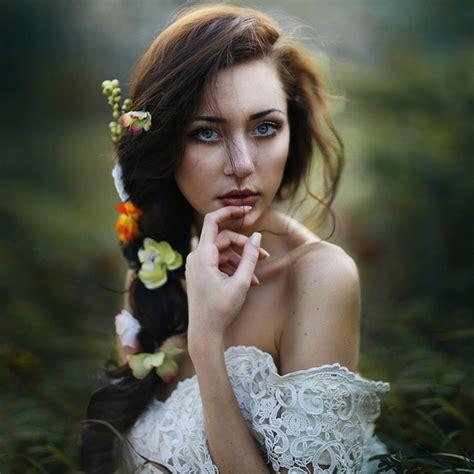 Dramatic Female Portraits By Irene Rudnyk