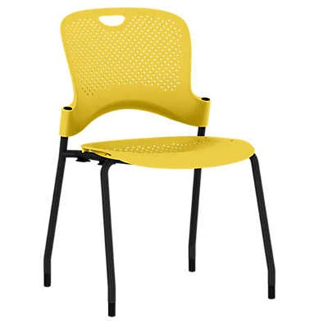 herman miller caper stacking chair molded seat