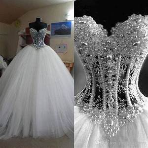real photos ball gowns sweetheart neckline dropped waist With sweetheart neckline wedding dress with bling