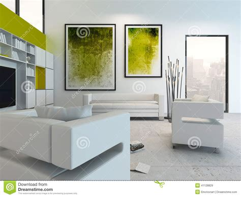 White Living Room Interior With Vibrant Green Decoration Christmas Party Finger Foods Appetizers Griswold Games To Play At Work Naughty Brisbane Venues White Decorations Sample Invitations Catering Ideas For