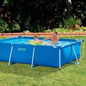 Schwimmbecken Im Garten : intex family schwimmbecken blau 300 x 200 x 75 cm eigener pool im garten ideen pool garten ~ Sanjose-hotels-ca.com Haus und Dekorationen