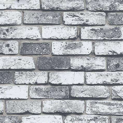 modern super  stone wallpaper  pvc grey brick