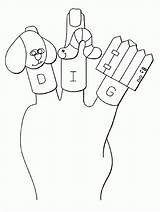 Coloring Puppet Puppets Finger Bible Printable Ages Clipart Popular Template sketch template