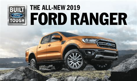 2019 Ford Ranger Release Date & Info  Ford Of Clermont