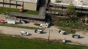 Police activity seen near Furr High School
