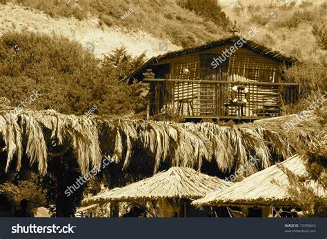cottage  sea stock photo  shutterstock