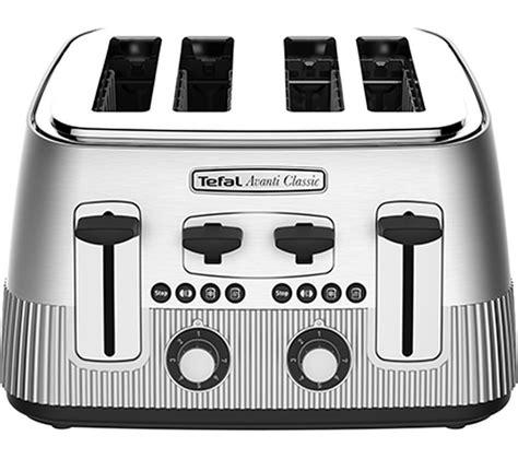 Tefal Avanti Toaster by Buy Tefal Avanti Classic 4 Slice Toaster Silver Free