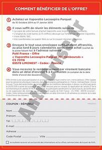 Offre De Remboursement : offre de remboursement odr 70 sur aspirateur vaporetto ~ Carolinahurricanesstore.com Idées de Décoration