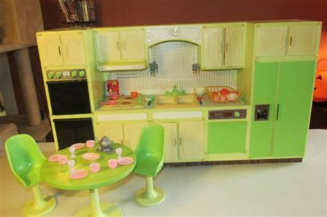 Vintage Sears kitchen playset   Barbie, Kitchens and Vintage