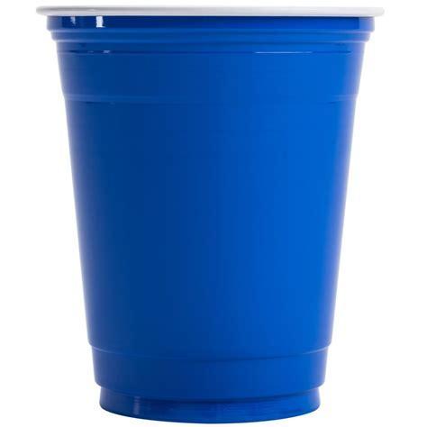 Dart Solo P12SB Blue 12 oz. Plastic Cup   50/Pack