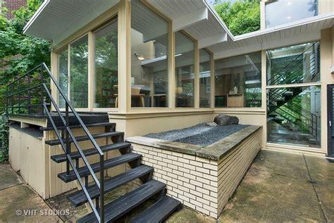 handsome midcentury modern home  glencoe asks