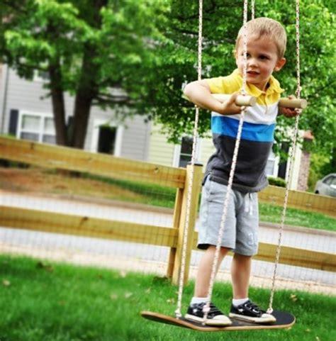 kinderschaukel selber bauen gartenschaukel kinder 30 diy kinderschaukel f 252 r kreative eltern