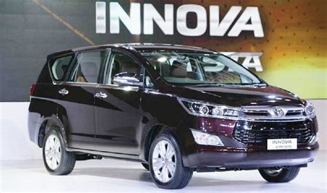 toyota innova crysta facelift 2020 toyota innova 2020 model a facelift from the previous one