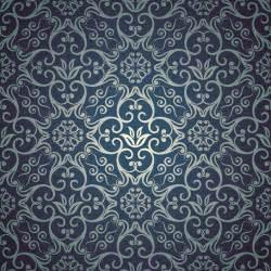 design pattern blue floral seamless pattern design vector vector pattern free