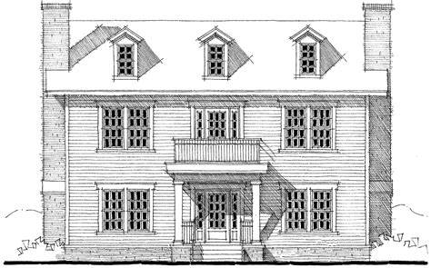 center colonial house plans center colonial house plan 44045td 2nd floor