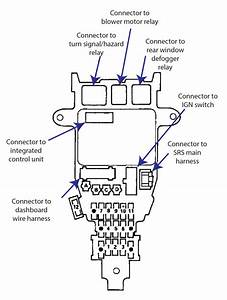 Wiring Diagram  1996 Honda Accord Stereo