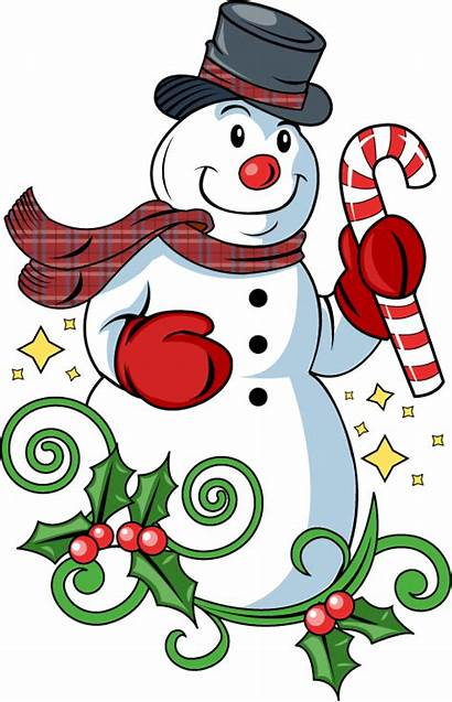 Snowman Frosty Clipart Clip Christmas Holiday Cliparts