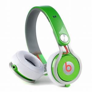 Cheap Dr Dre Beats Mixr High Performance Headphones Green ...