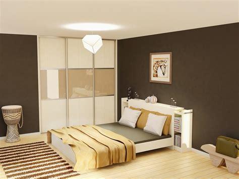 2 couleurs dans une chambre peinture chambre adulte couleurs critères de choix ooreka