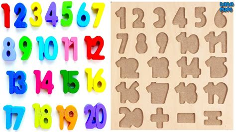 Learn 1 To 20 Numbers For Kids|counting Numbers| Numbers 1