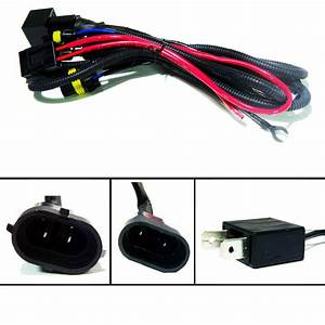 Hid Relay Wiring Harness Xenon Kit 9004 9006 9005 H11 H9