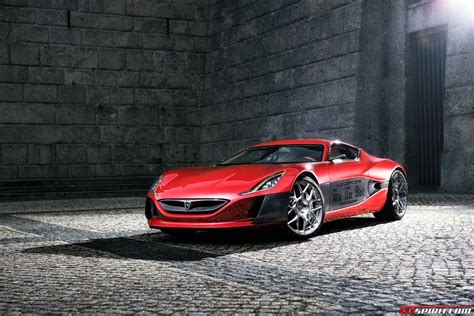 Rimac Concept_one Close To Production Thanks To New