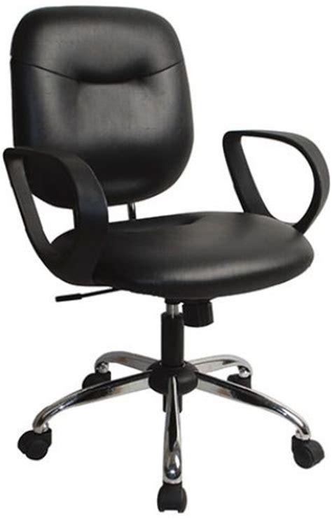 office sc532v vinyl sculptured task chair with loop