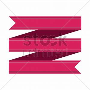 Ribbon banner design Vector Image - 1467046 | StockUnlimited