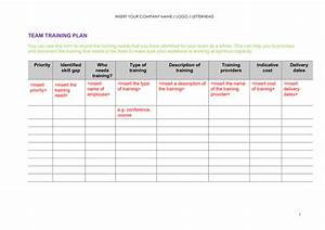 Training plan template bing images for Team training plan template