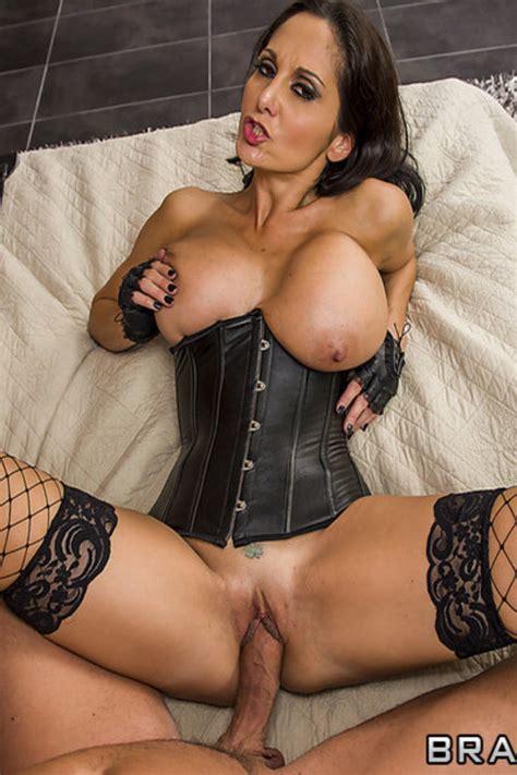 naughty porn star ava addams teasing in latex milf fox