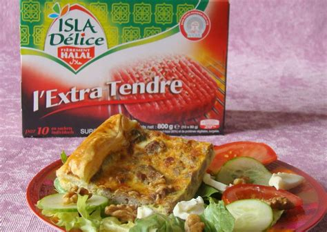 cuisiner viande hach馥 isla délice quiche à la viande hachée halal and co