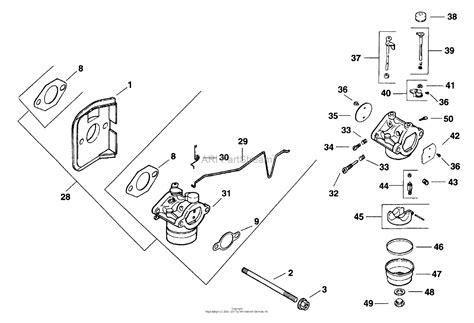 kohler cv  snapper  hp parts diagram  fuel