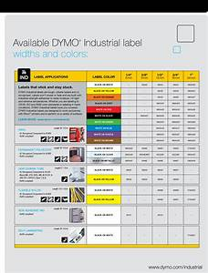 Dymo 1801611 rhino 4200 facility security and pro a v for Dymo label sizes