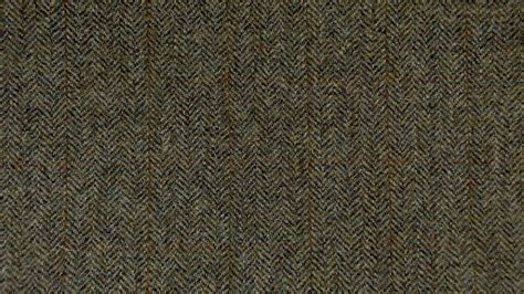 green  brown curtains herringbone tweed fabric harris