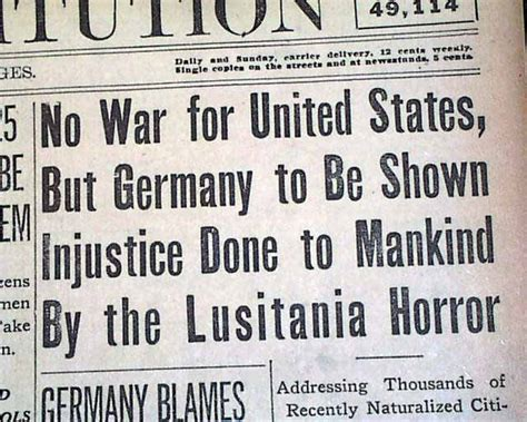 sinking of the uss maine primary sources us involvement in ww1 the sinking of rms lusitania