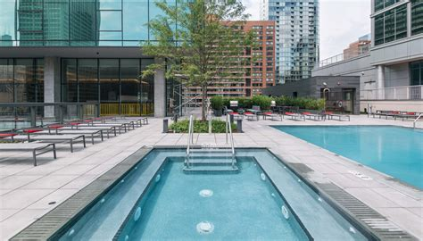 pool chicago downtown chicago apartments with pools luxury living