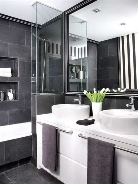 Modern Bathroom Gray by 100 Fabulous Black White Gray Bathroom Design With Pictures