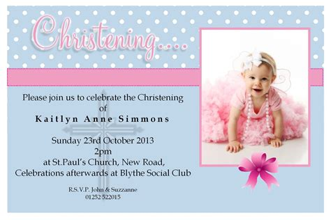 free christening invitation templates photoshop (With