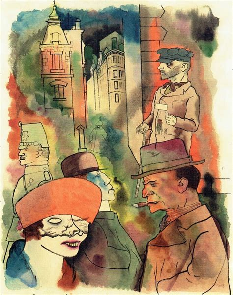 George Grosz and the Necessity of Offence - Wessie du Toit
