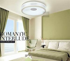No ceiling lights in bedrooms : Led bedroom white round ceiling lights modern other