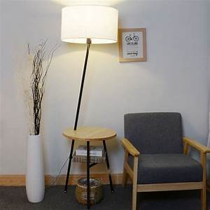 jessie 6496 wood end table floor lamp alightup With jessie 1 light table lamp
