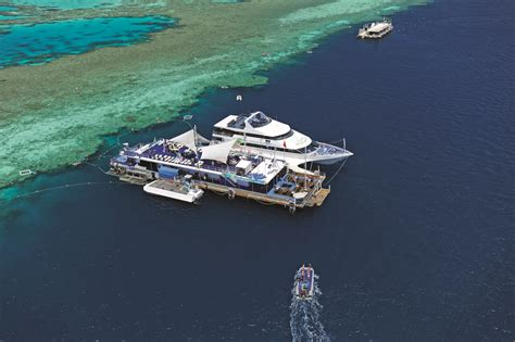 Glass Bottom Boat Tours Airlie Beach by Great Barrier Reef Tours Inc Helicopter Tours Airlie Beach