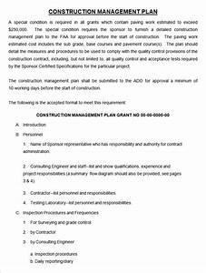 14 construction management plan templates free With construction environmental management plan template