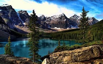 Lake Scenes Computer Desktop Scene Wallpapersafari Moraine