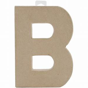 paper mache letter letter b With mache letters