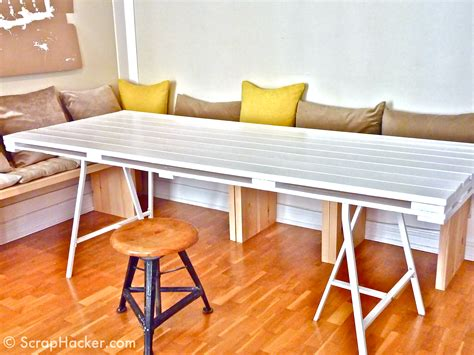 table cuisine palette d i y pallet dining table a 10 tutorial