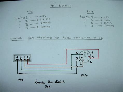 Usb Mouse Wiring Diagram Power by Ac Power Connector To Usb Wiring Diagram Usb Wiring Diagram